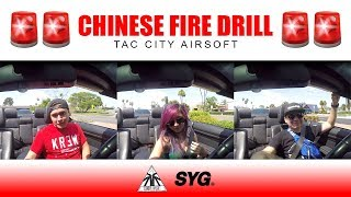 CHINESE FIRE DRILL - Driving to Tac City South