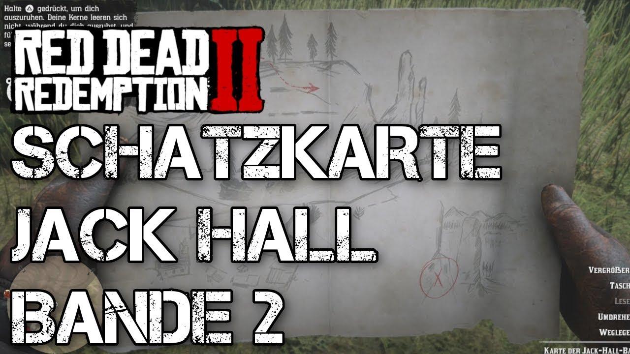 Rdr2 Karte.Red Dead Redemption 2 Schatzsucher Karte Der Jack Hall Bande Schatzkarte 2 Guide
