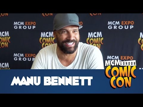 Arrow's Deathstroke, Manu Bennett   MCM Comic Con London  May 2017