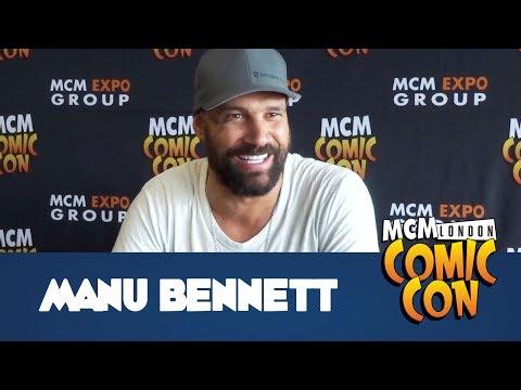 Arrow's Deathstroke, Manu Bennett Interview - MCM Comic Con London - May 2017