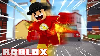 ONCE AGAIN BECOMING THE FLASH! Roblox CW Flash Speed run 4!