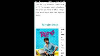 How to download Remo full movie