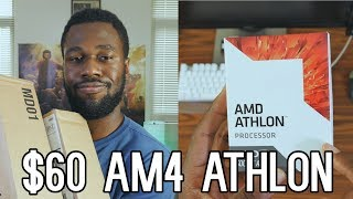 AMD AM4 Athlons are here - $60 Athlon X4 950 Unboxing!