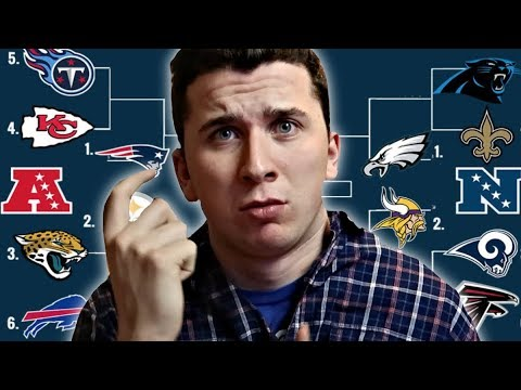 2018 NFL Playoff Bracket Projection: Eagles beat Jaguars to win first Super Bowl