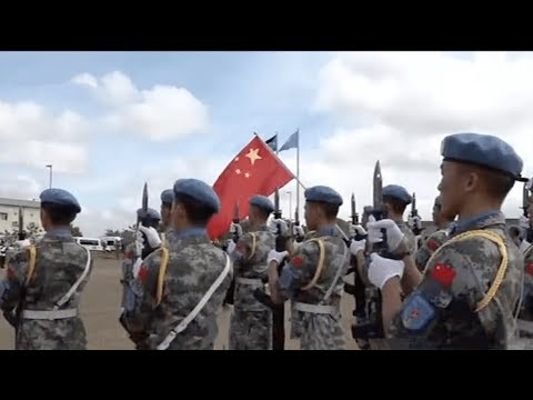 Chinese Peacekeepers In South Sudan Get UN Awards