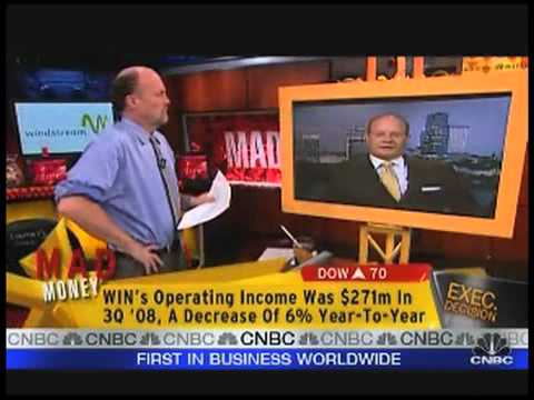Cramer Interviews Windstream CEO