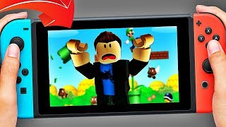 I MUST ESCAPE FROM a NINTENDO SWITCH! Roblox!
