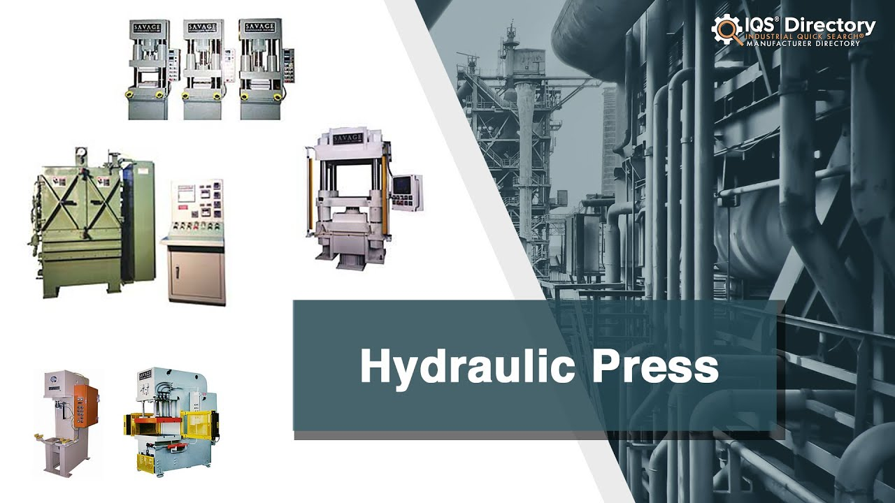 Hydraulic Press Manufacturers Suppliers | IQS Directory