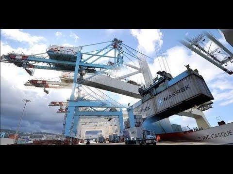 4 mastodontes pour le terminal à conteneurs du Port de Douala