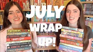 July Wrap Up | 2017 [CC]