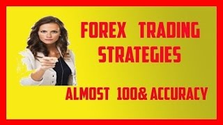 FOREX TRADING STRATEGIES 2015 WITH ALMOST 100% ACCURACY  2015  forex world