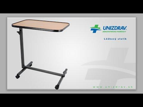 Lôžkový stolík k posteli - VIDEOMANUÁL