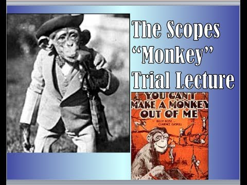 """Scopes """"Monkey"""" Trial Lecture"""