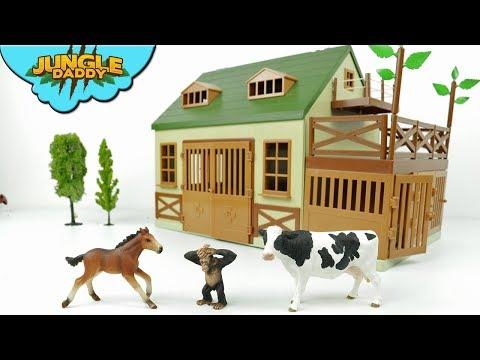 Terra ANIMAL HOSPITAL - Learn animals for kids zoo farm barn jungle schleich