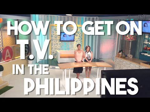 "How to get on Television in the Philippines (American Dad ""Pudra"" experiences showbiz)"