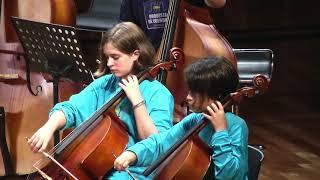Tema de Nuevo Mundo , A. Dvorak,  orquesta de cuerdas Fundecua/Jaffé ARGENTINA