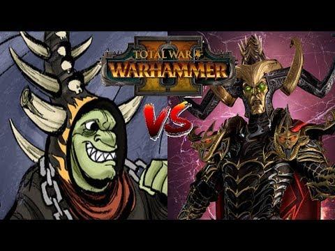 The Gobbo King vs Ondjage - BEST OF 7 Showcase   Total War: Warhammer 2