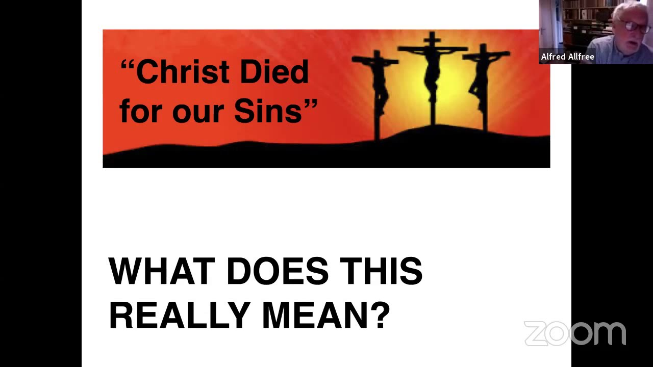 Christ died for our sins: what does this really mean?
