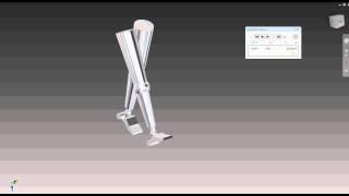 NUS DCC EIM: Human Gait in Autodesk Inventor