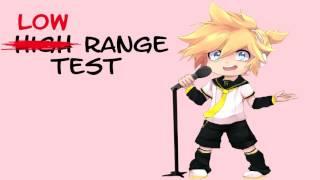 【Kagamine Len V4X】Len's Low Range Test / 低音厨音域テスト【鏡音レン】