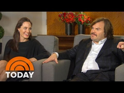 Jack Black, Angelina Jolie On Working With Their Kids In 'Kung Fu Panda 3' | TODAY