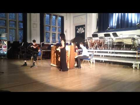 J Brahms: Two songs, op.91 no.1, W Yau/ T Widdicombe / L Zhong