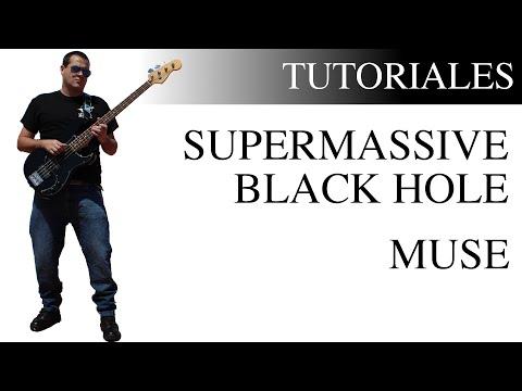 Cómo tocar Supermassive Black Hole de Muse al Bajo Tutorial fácil