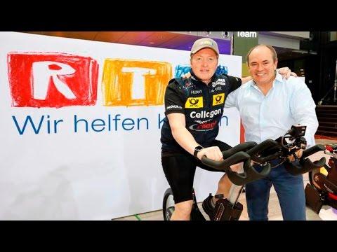 RTL-Spendenmarathon 2016: Joey Kellys '24 h Bike-Challenge' im 360 Grad Livestream