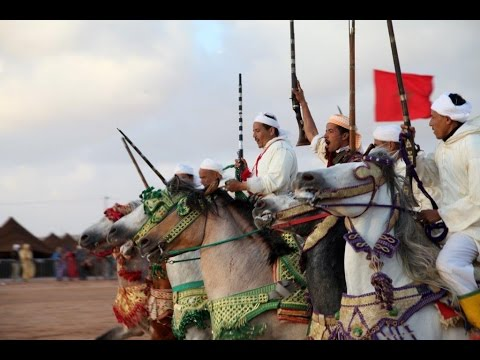 Moussem de Tan Tan 2015. Morocco. Maroko, Festiwal Moussem de TanTan.