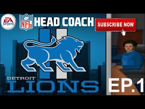 NFL Head Coach Let's Play Ep.1