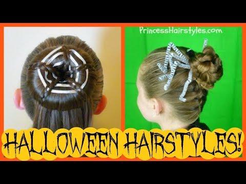 2 Spooky Spider Hairstyles | The Best Halloween Hair