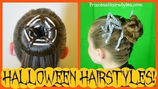 2 Spooky Spider Hairstyles   The Best Halloween Hair