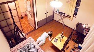 С КЕМ и ГДЕ Я ЖИВУ в ТОКИО? Моя квартира в ЯПОНИИ