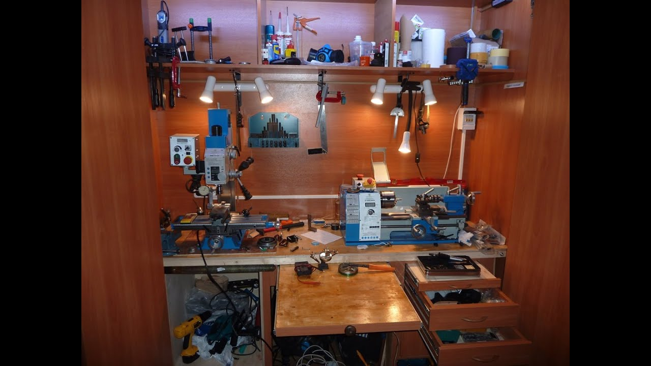 Домашняя мастерская в квартире своими руками. home studio wi.