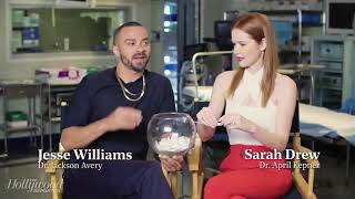 Fishing for Questions- Jesse Williams & Sarah Drew