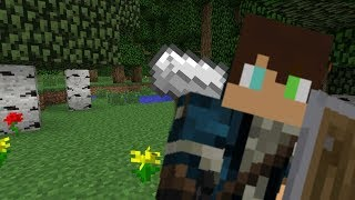A House and the Hunt for Iron | Minecraft