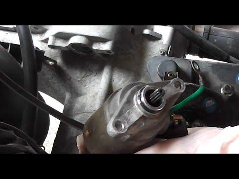 E-Starter Roller Anlasser Motor wechseln - YouTube