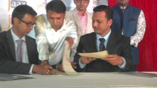 Signing Ceremony Shikari Bangla Movie 2016 !!! Srabanti Chatterjee || Shakib Khan