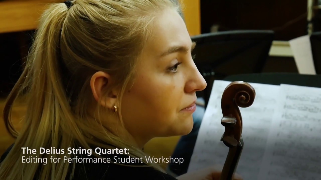 What a String quartet in residence does: the Villiers Quartet at Oxford