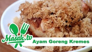 Ayam Goreng Kremes - Crunch Fried Chicken Recipe | Resep #156