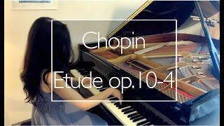 Chopin:  Etude op.10-4 ショパン:練習曲 作品10-4