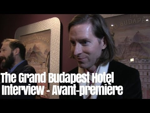 Avant Première The Grand Budapest Hotel - Interview Wes Anderson, Ralph Fiennes