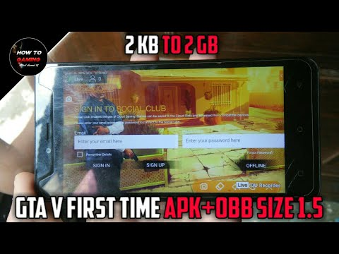   FIRST TIME APK+OBB  HOW TO DOWNLOAD GTA 5 GAME ON ANDROID  REAL  APK+DATA  HIGHLY COMPRESSED  