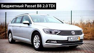 Бюджетный Passat B8 - детальный осмотр и подробный обзор