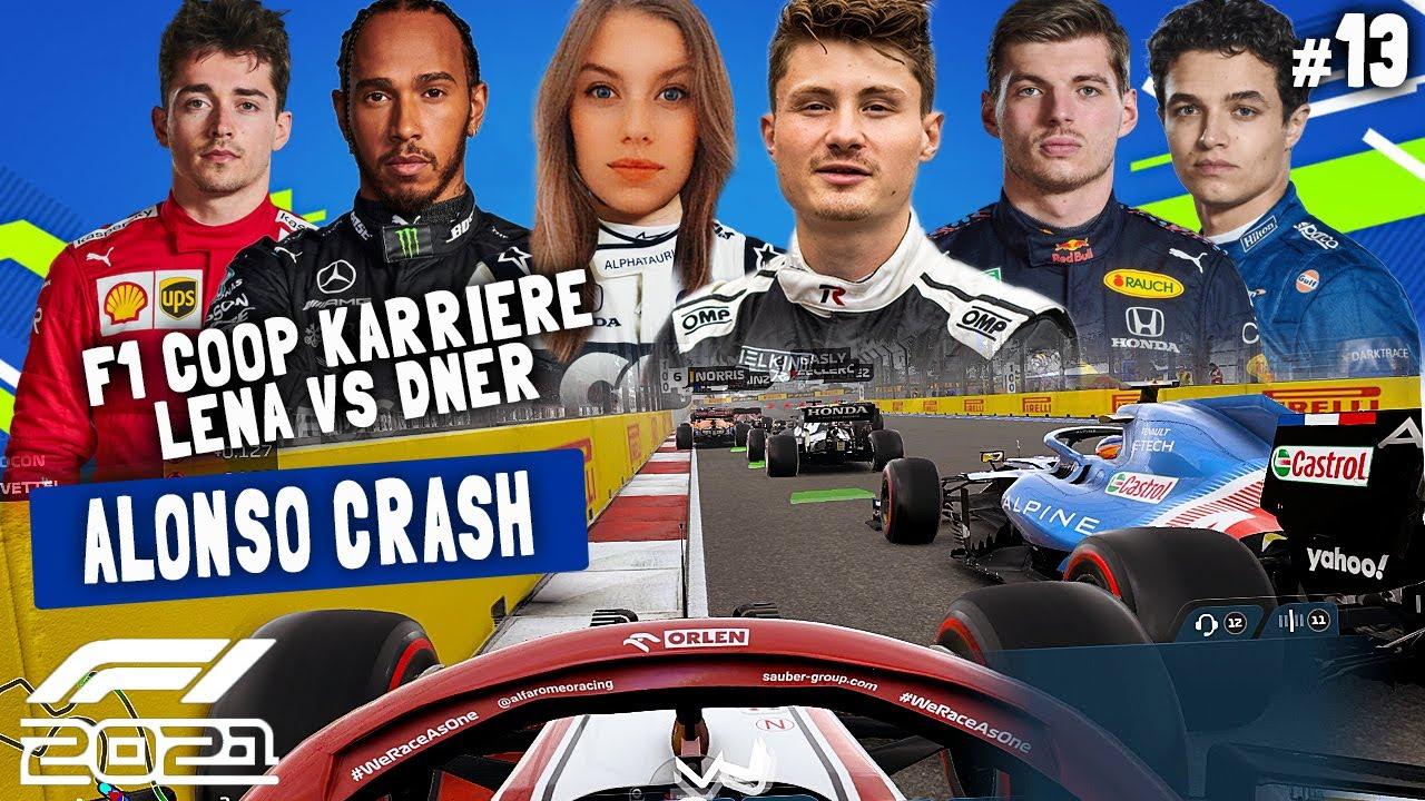 Download EINGEQUETSCHT AM START | F1 2021 Koop Karriere #13 | Lena & Dner