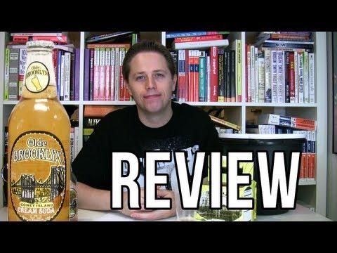 Olde Brooklyn Coney Island Cream Soda Review (Soda Tasting #51)