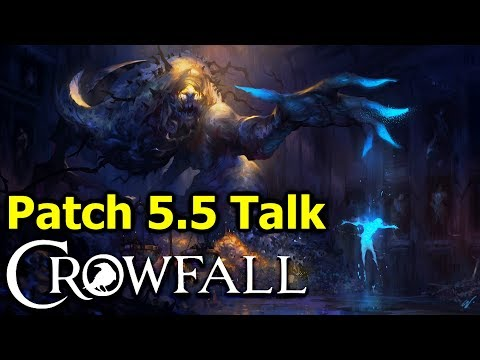 Crowfall Patch 5.5 Dev Q&A - Crypt and Vessels Online, Energy Based Knight, Death Loop, EK Vendors