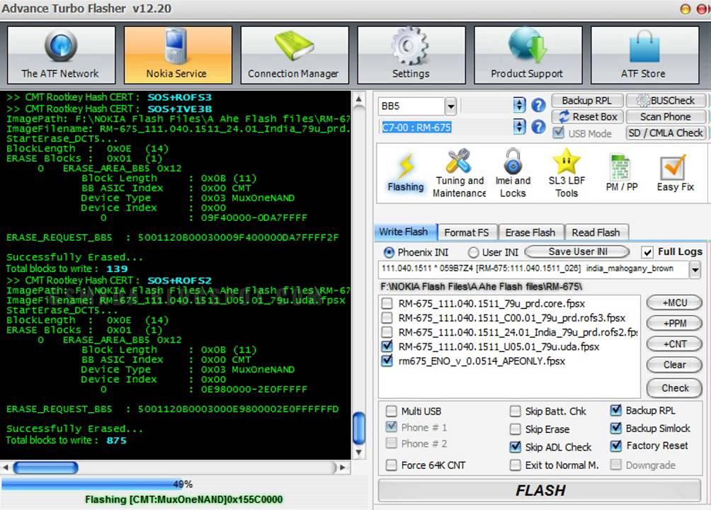 nokia 700 flash file mcu ppm cnt