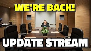 We're Back! Update And Hangout Live Stream Q&A!