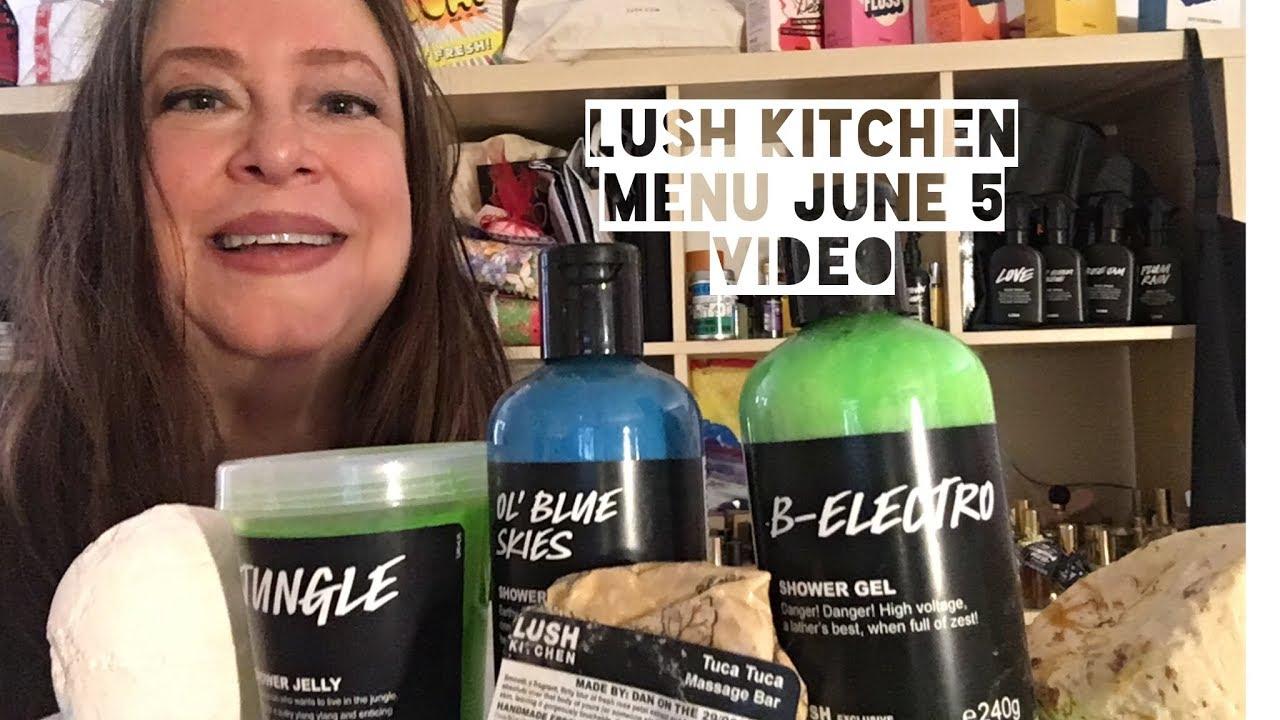 Lush Kitchen Menu June 5-9 Previews - YouTube